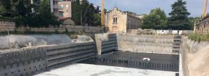 realizzazione impermeabilizzazione Platea di fondazione