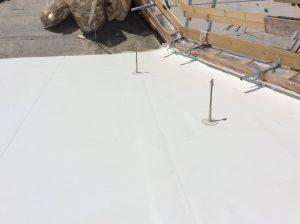 rifacimento copertura edificio sintetico linea vita