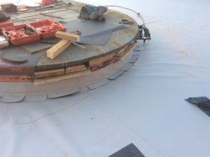 rifacimento terrazza panoramica dettaglio lavorazioni