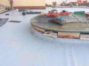 rifacimento terrazza panoramica dettaglio posa