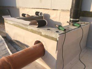 realizzazione impermeabilizzazione strutture di facciata