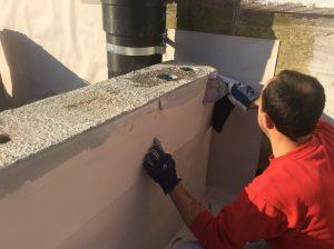 dettaglio realizzazione impermeabilizzazione muro