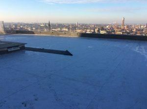 rifacimento terrazza panoramica dettaglio rimozione pavimento