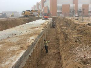 realizzazione scavo tunnel interrato cantina