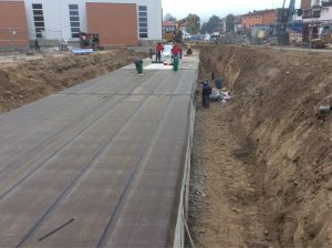 realizzazione guaina tunnel interrato cantina vitivinicola