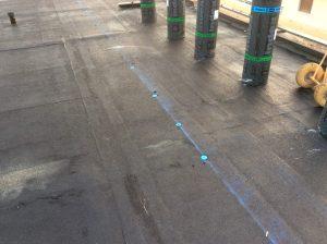 Fissaggio impermeabilizzazione copertura piana industriale