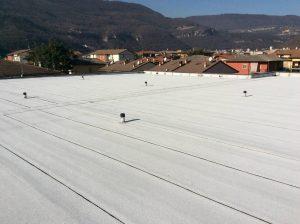 rifacimento impermeabilizzazione copertura piana industriale guaina ardesiata 12