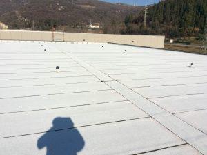 rifacimento impermeabilizzazione copertura industriale piana ardesiata 8