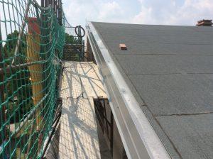 lattoneria bordo copertura a falde civile abitazione coppi