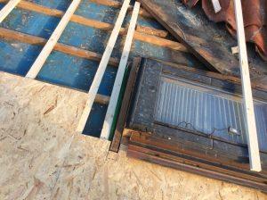 rifacimento tavolato copertura ventilata dettaglio lucernario