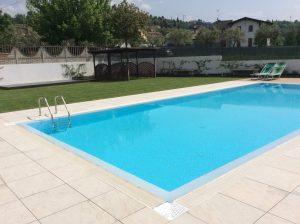 rifacimento terrazza giardino con piscina 1