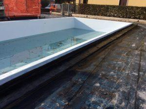 rifacimento impermeabilizzazione terrazza giardino con piscina 10