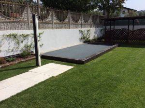 rifacimento terrazza giardino con piscina 3
