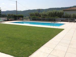 rifacimento terrazza giardino con piscina 4